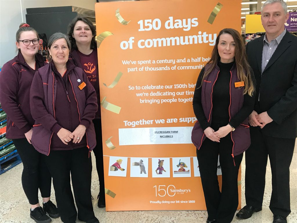 Sainsburys - 150 days of Community
