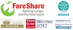 Proud to announce we are registered with FareShare