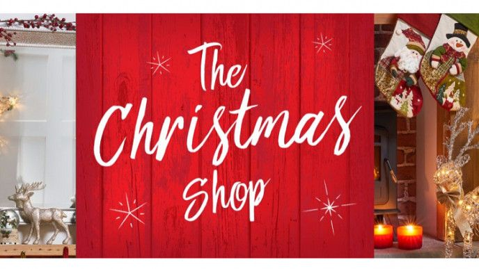 Christmas Shop is now open